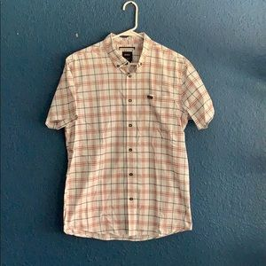Men's RVCA button down shirt.